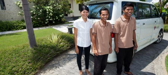Bali Villa sheeba | The staff who will pamper you